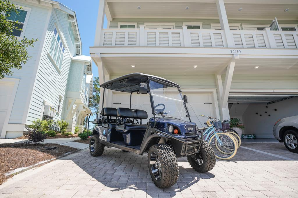 Tranquil 3BR 30A Home with Golf Cart